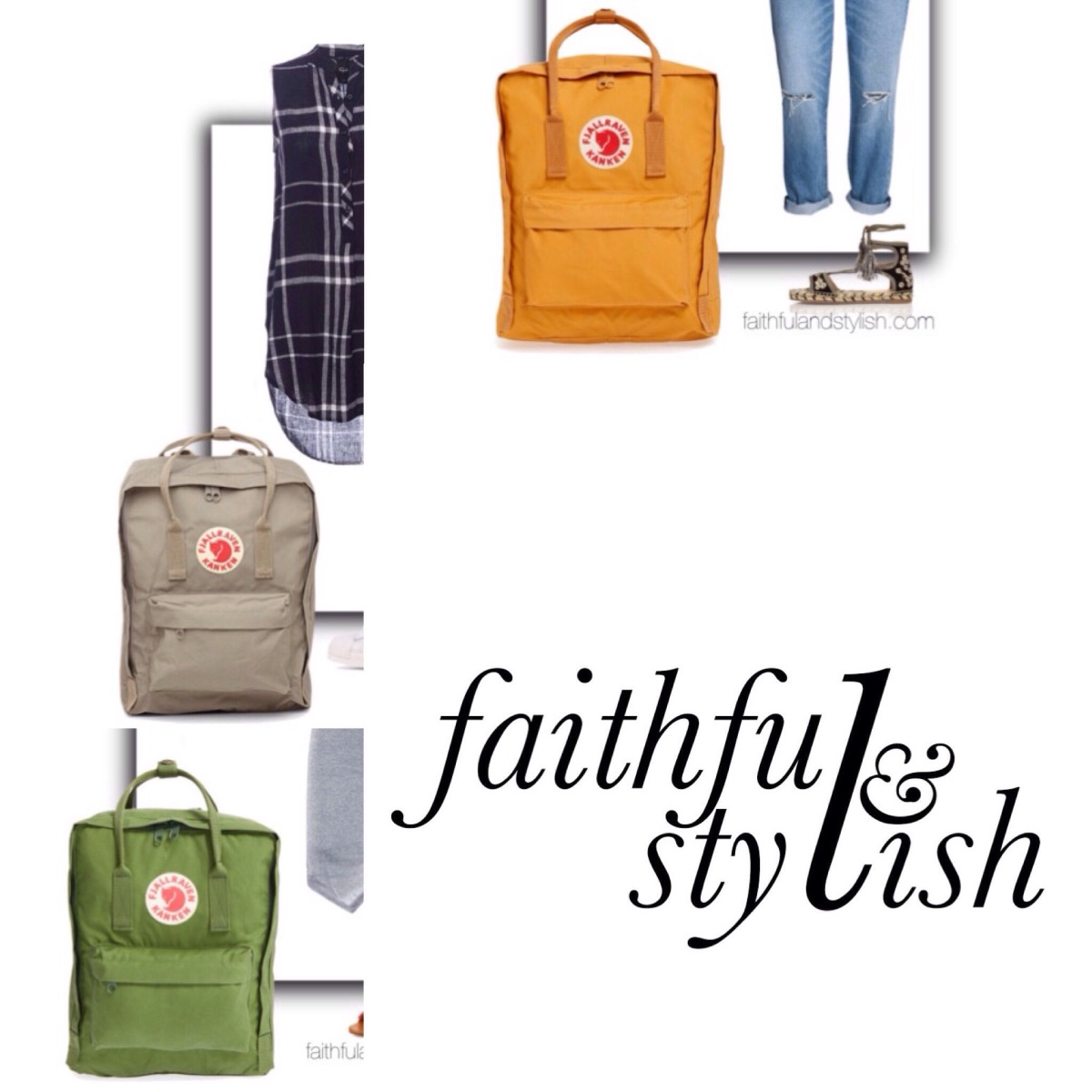 How to Style a Fjallraven Kanken Backpack