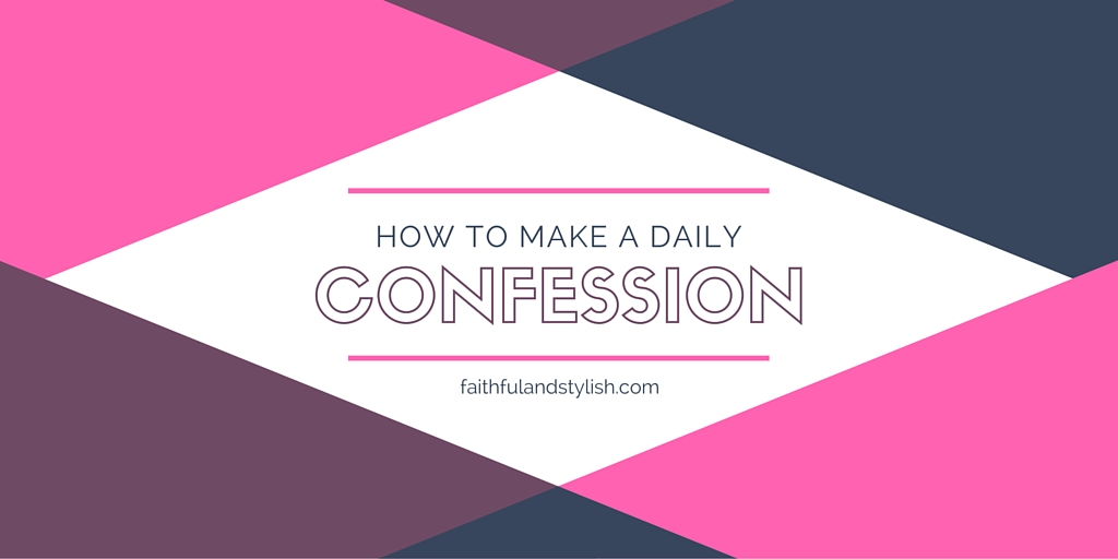 How to Make a DailyConfession
